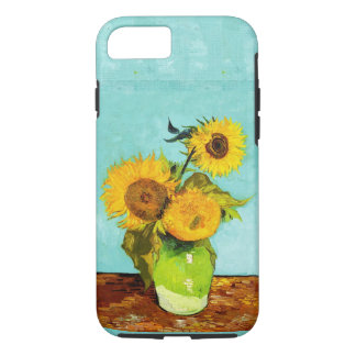 Vincent Van Gogh Three Sunflowers In A Vase iPhone 7 Case