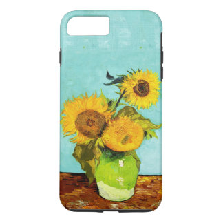 Vincent Van Gogh Three Sunflowers In A Vase iPhone 7 Plus Case