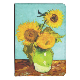 Vincent Van Gogh Three Sunflowers In A Vase Kindle 4 Case