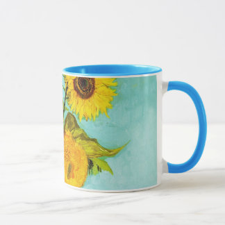Vincent Van Gogh Three Sunflowers In A Vase Mug