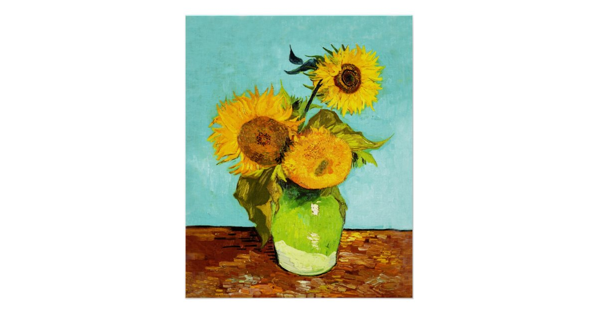 vincent van gogh sunflowers essay This essay vincent van gogh: sunflowers is available for you on essays24com search term papers, college essay examples and free essays on the bright yellow background helps the sunflowers and vase stand out this makes it easy to follow the shape and detail of the flowers.