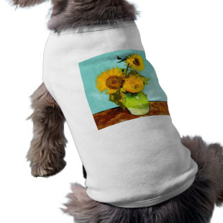 Vincent Van Gogh Three Sunflowers In A Vase T-Shirt