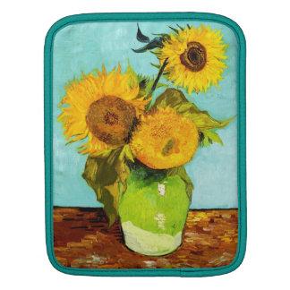 Vincent Van Gogh Three Sunflowers Sleeve For iPads