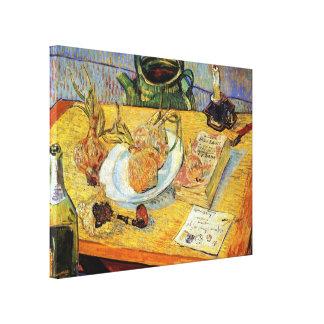 Vincent van Gogh - todavía tablero de dibujo de la Impresión En Lienzo