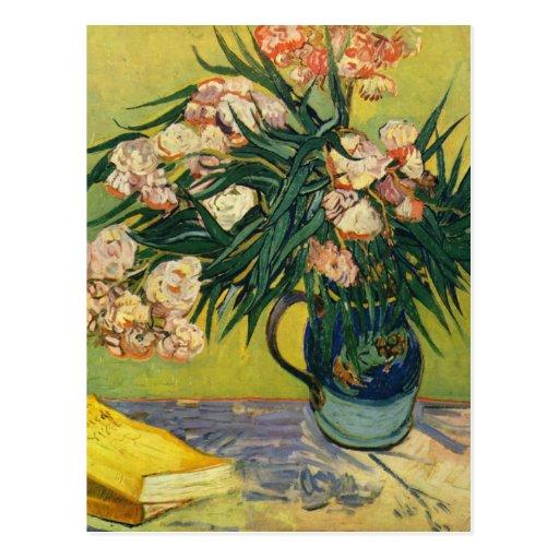 Vincent van Gogh - todavía vida con el Oleander Postal