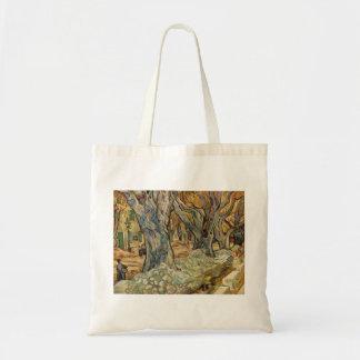 Vincent van Gogh - trabajadores del camino Bolsas Lienzo