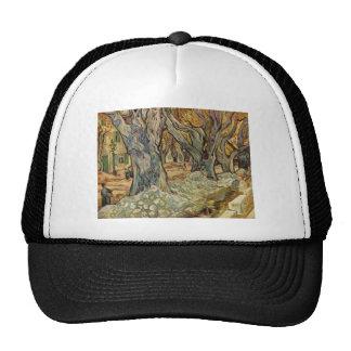 Vincent van Gogh - trabajadores del camino Gorros Bordados