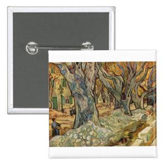 Vincent van Gogh - trabajadores del camino Pins