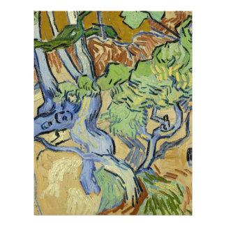 Vincent van Gogh - Tree roots Letterhead