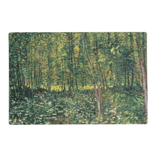 Vincent Van Gogh | Trees And Undergrowth, 1887 Placemat at Zazzle