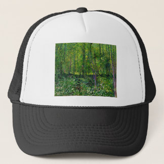 Vincent Van Gogh Trees And Undergrowth Trucker Hat
