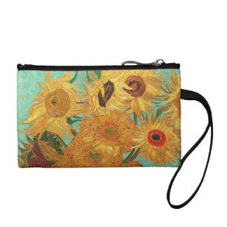 Vincent Van Gogh Twelve Sunflowers In A Vase Change Purses