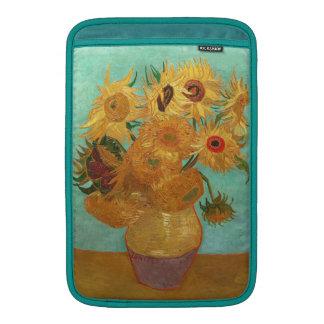Vincent Van Gogh Twelve Sunflowers In A Vase MacBook Sleeves