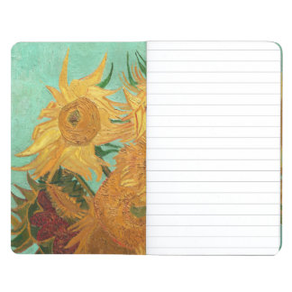 Vincent Van Gogh Twelve Sunflowers In A Vase Journal