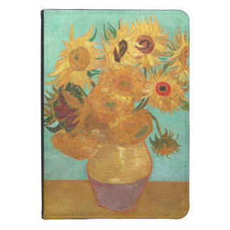 Vincent Van Gogh Twelve Sunflowers In A Vase Kindle Touch Cover