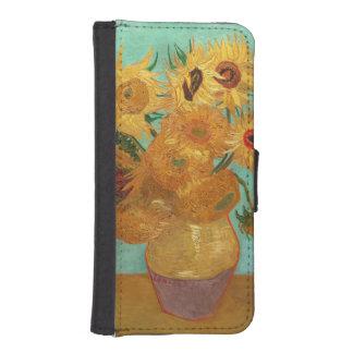 Vincent Van Gogh Twelve Sunflowers In A Vase Phone Wallet Cases
