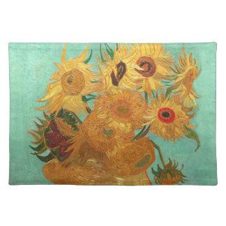 Vincent Van Gogh Twelve Sunflowers In A Vase Placemat