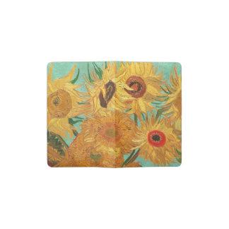 Vincent Van Gogh Twelve Sunflowers In A Vase Pocket Moleskine Notebook Cover With Notebook