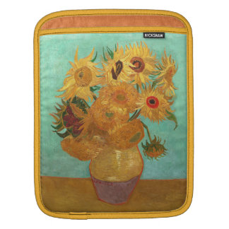 Vincent Van Gogh Twelve Sunflowers In A Vase Sleeve For iPads