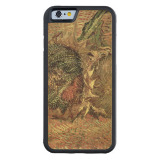 Vincent van Gogh | Two Cut Sunflowers, 1887 Carved Maple iPhone 6 Bumper Case