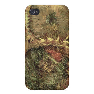 Vincent van Gogh | Two Cut Sunflowers, 1887 iPhone 4 Covers