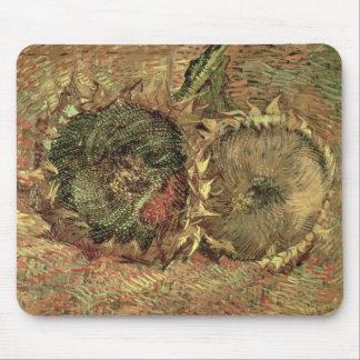 Vincent van Gogh | Two Cut Sunflowers, 1887 Mouse Pad