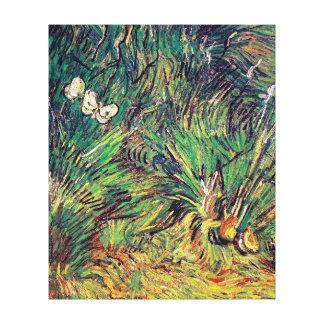 Vincent Van Gogh - Two White Butterflies Fine Art Canvas Print