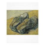 Vincent van Gogh - un par de estorbos de cuero Tarjetas Publicitarias