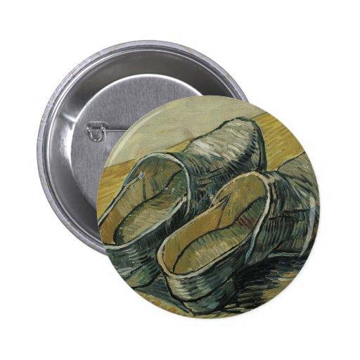 Vincent van Gogh - un par de estorbos de cuero Pins