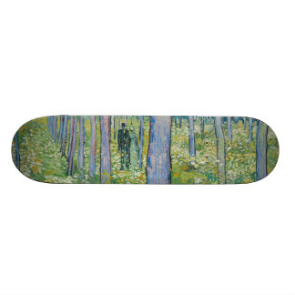 Vincent van Gogh - Undergrowth with Two Figures Skateboard Deck