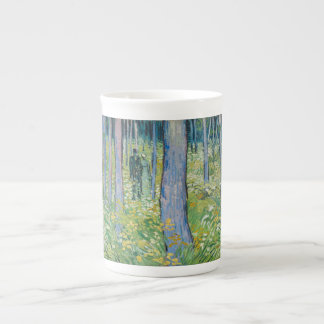 Vincent van Gogh - Undergrowth with Two Figures Bone China Mugs