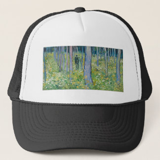 Vincent van Gogh - Undergrowth with Two Figures Trucker Hat