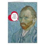 Vincent Van Gogh Valentine Greeting Card