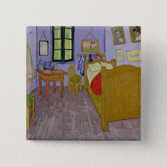 Vincent van Gogh | Van Gogh's Bedroom at Arles Button