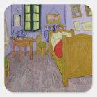Vincent van Gogh | Van Gogh's Bedroom at Arles Square Sticker