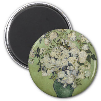 Vincent Van Gogh Vase of Roses Painting Floral Art Magnet