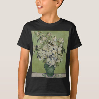Vincent Van Gogh Vase of Roses Painting Floral Art T-Shirt