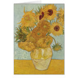 Vincent Van Gogh Vase With 12 Sunflowers Cards