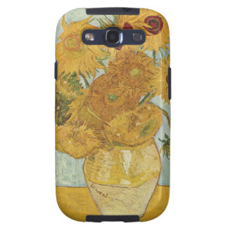 Vincent Van Gogh Vase With 12 Sunflowers Galaxy SIII Case