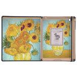 Vincent van Gogh - Vase with 12 Sunflowers iPad Cases