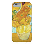 Vincent van Gogh - Vase with 12 Sunflowers iPhone  Barely There iPhone 6 Case