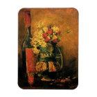 Vincent Van Gogh - Vase With Carnations Fine Art Magnet