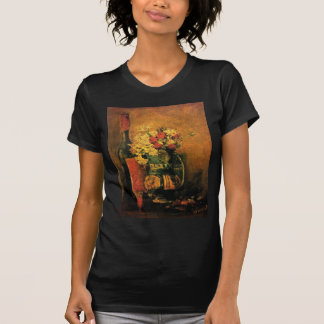 Vincent Van Gogh - Vase With Carnations Fine Art T-Shirt