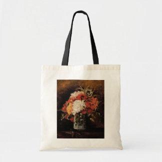 Vincent Van Gogh - Vase With Carnations - Fine Art Tote Bag