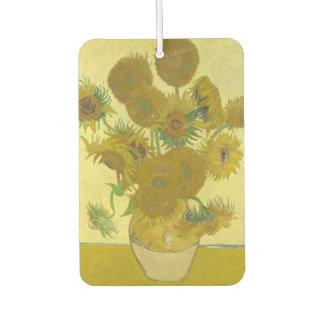 Vincent Van Gogh - Vase with Fourteen Sunflowers Air Freshener