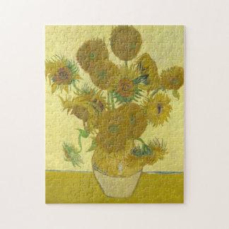Vincent Van Gogh - Vase with Fourteen Sunflowers Jigsaw Puzzle