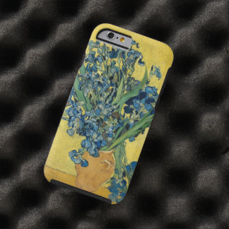 Vincent Van Gogh Vase With Irises Floral Vintage Tough iPhone 6 Case