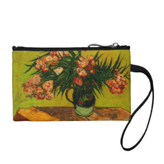 Vincent Van Gogh Vase With Oleanders And Books Coin Wallets