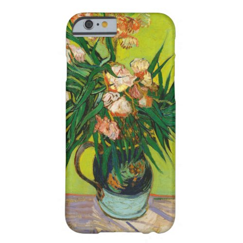 Vincent Van Gogh Vase With Oleanders And Books Phone Case
