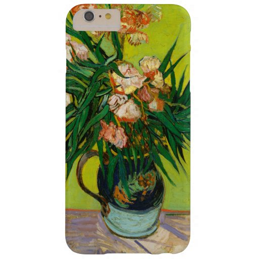 Vincent Van Gogh Vase With Oleanders And Books Barely There iPhone 6 Plus Case